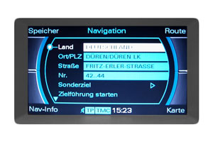 Audi A4 B8 - Multimedia-Interface - Navimonitor Defekt