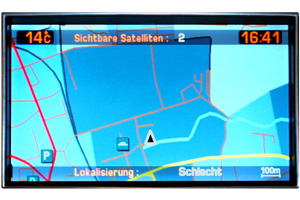Citroën C5 - Navidisplay