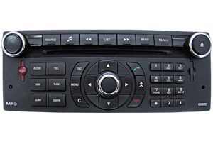 Citroën C4 - Navigation defekt - Navi-Reparatur RT3-N3-10