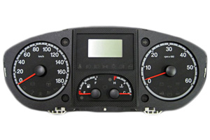 Fiat Idea - Reparatur KM-Display Kombiinstrument