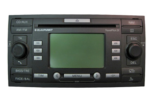 Ford Galaxy - Blaupunkt Navigation Travel Pilot EX Reparatur / Lesefehler / Laufwerkfehler / GPS-Empfang / Komplettausfall / Pixelfehler