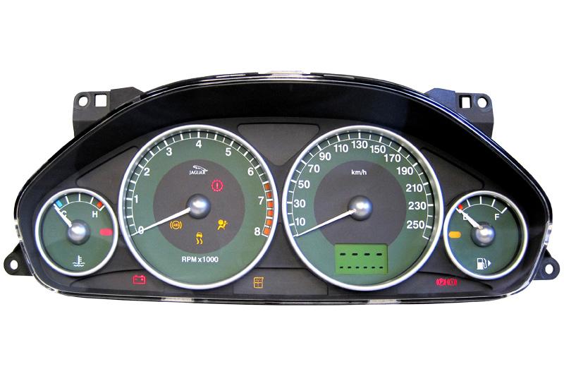 Jaguar - Kombiinstrument / Tachoreparatur - Diverse Ausfälle bis hin ...