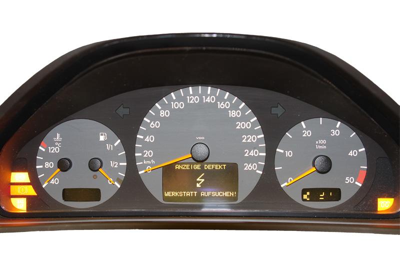 Tachonadel Beleuchtung | Mercedes E W210 Tacho Defekt Tachonadel Hangt