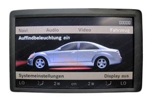 Navi Reparatur Mercedes W221