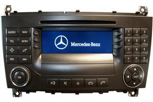 Navi Reparatur Mercedes W203