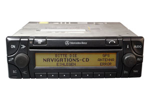 Mercedes ML W163 - Navi Audio 30 APS Lesefehler/Displayfehler Reparatur