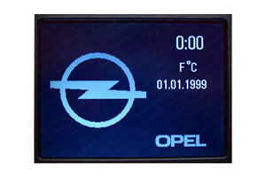 Opel Omega B - Displayreparatur - CID-Display