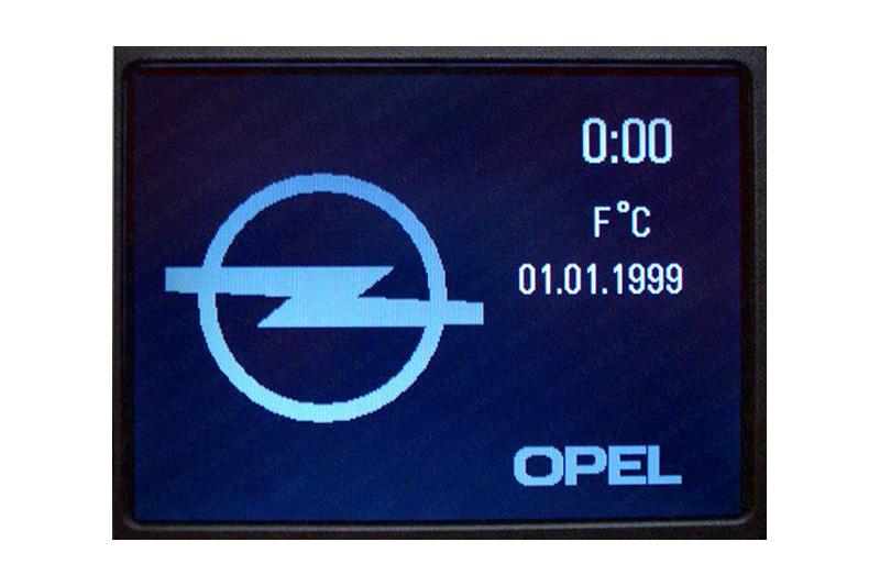 opel astra g • navigation defekt - navi-reparatur