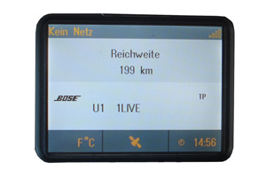 Opel Tigra - Repariertes CID-Display