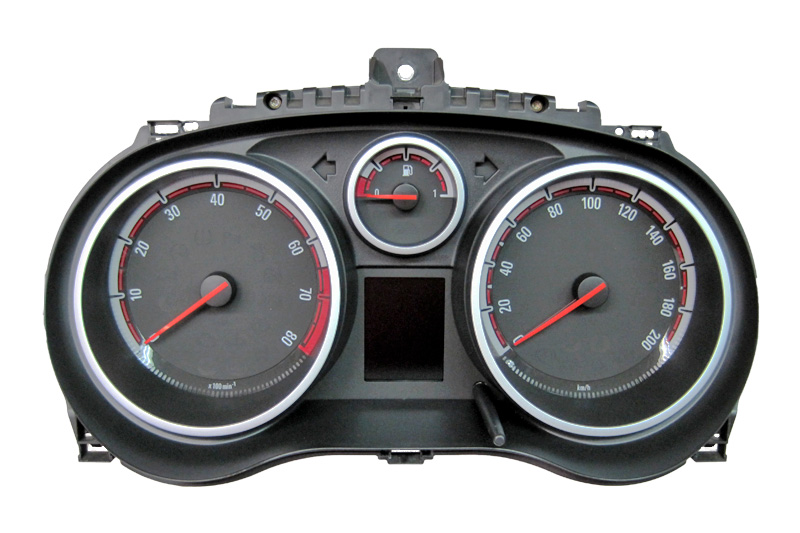 Opel Corsa D - Kombiinstrument / Tachoreparatur - Diverse Ausfälle ...