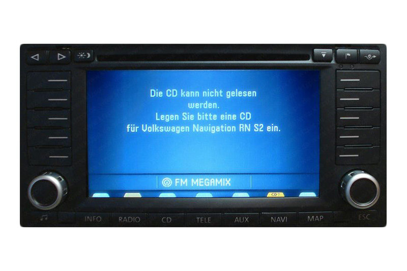 vw touareg i navigation defekt navi reparatur. Black Bedroom Furniture Sets. Home Design Ideas