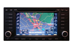 VW Golf - RNS-MFD 2 Navigation Reparatur Displayfehler