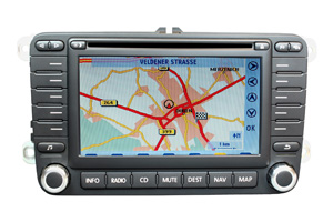 VW Golf 5 - RNS-MFD 2 Navigation Softwarefehler-Reparatur
