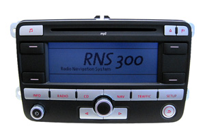 VW Golf - RNS-300 Navigation Reparatur