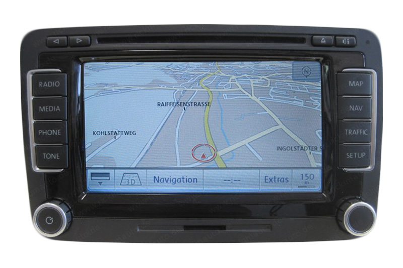 vw polo 5 navigation defekt navi reparatur. Black Bedroom Furniture Sets. Home Design Ideas