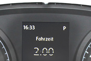 VW Golf 7 - FIS Pixelfehler/Display Reparatur